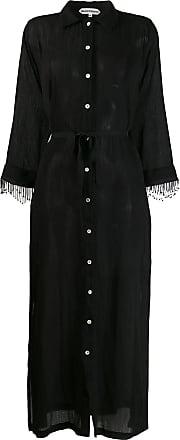 Giacobino Vestido com acabamento de contas - Preto