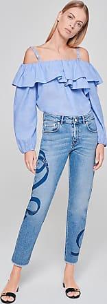 Escada Sport Printed Boyfriend Jeans