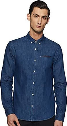 Scotch /& Soda Mens Longsleeve Shirt with Neps and Chest Pocket