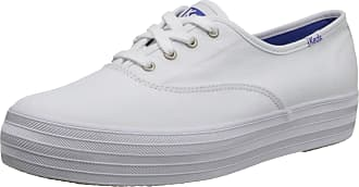 Keds Womens TRIPLE Sneaker, White, 6.5 UK