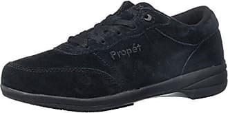 Propet Womens Washable Walker Shoe Black 10.5 S 4A
