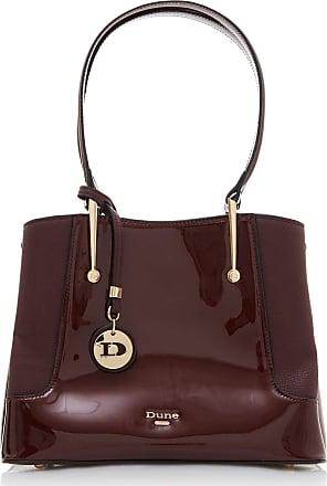 Dune London Dune DINIDORRISS Patent Grab Bag One Size Berry Grab Bag