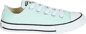 Converse All Star Low Youth Teal Tint White - 1 Youth UK