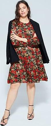 Violeta by Mango Flower print dress