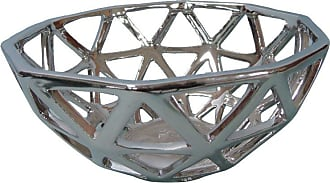 Three Hands Pierced Ceramic Bowl - 34569