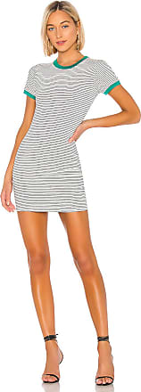 Superdown Kandy Stripe Bodycon Dress in Black