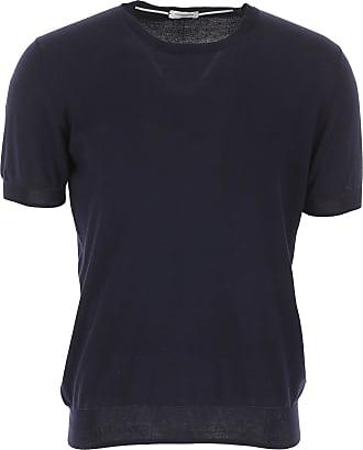 Paolo Pecora T-Shirts für Herren, TShirts Günstig im Sale, Marineblau, Baumwolle, 2019, L M XL XXL