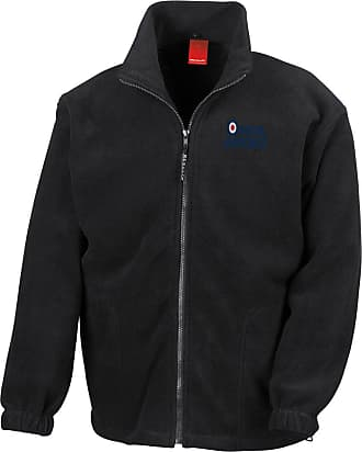 Military Online RAF Logo - Official Royal Air Force Full Zip Heavyweight Fleece Jacket