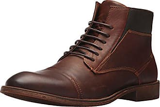 Steve Madden Mens Quibb Chukka Boot, Cognac Leather, 11 US/US Size Conversion M US