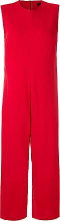 Osklen wide leg jumpsuit - Red