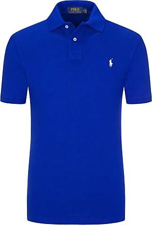 Polo Ralph Lauren Poloshirt, Slim Fit von Polo Ralph Lauren in Royal für Herren