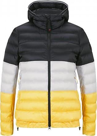 Bogner Fire + Ice Anka Lightweight down jacket for Women - Black/White/Yellow