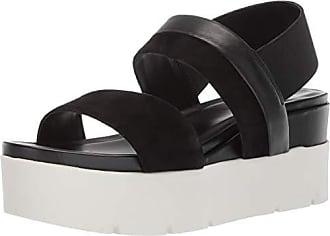 Franco Sarto Womens Velma Wedge Sandal, Black 11 M US