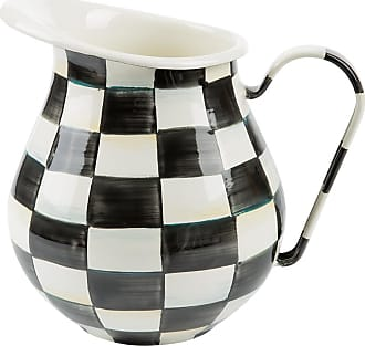 MacKenzie-Childs Courtly Check Enamel Pitcher