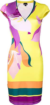 Just Cavalli Vestido slim - Amarelo