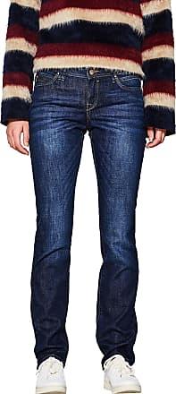 EDC by Esprit edc by ESPRIT Womens 997cc1b821 Straight Jeans, Blue (Blue Dark Wash 901), W27/L34