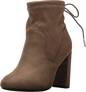 Qupid Womens York-03x Boot, Khaki, 5.5 M US