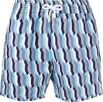 Frescobol Carioca Short de natação com estampa gráfica - Azul