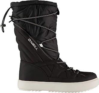 O'Neill Womens Montabella Ladies Snow Boots Walking Black 6.5