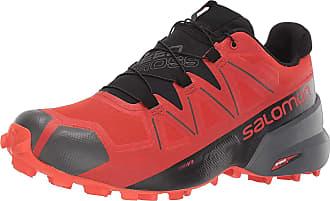 Salomon Mens 407965_44 2/3 Running Shoes, Orange, 10 UK