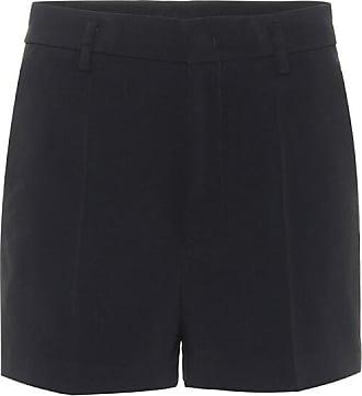 Red Valentino High-rise crêpe shorts