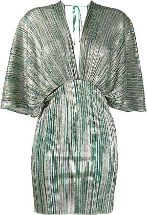 Rotate Vestido com mangas 7/8 - Verde