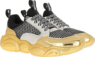 Moschino Sneakers - Sneaker Orso Mix Silver/Gold/Black - colorful - Sneakers for ladies