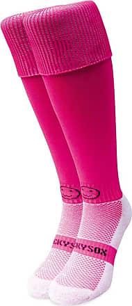 Wackysox Rugby Socks, Hockey Socks - Plain Raspberry Pink