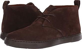 FitFlop Mens Zackery Desert Boots Sneaker, Chocolate, 13 M US