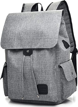 YYW Cool Boys Girls Outdoor Backpack Designer Anime Luminous Backpack with USB Charging Port Daypack Shoulder School Bag Laptop Bag (Grey without luminous