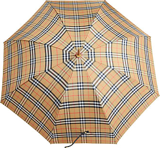 Burberry Vintage Check Walking Umbrella - Yellow
