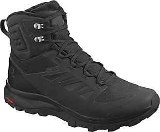 Salomon Salomon Mens Hiking Shoes, OUTblast TS CSWP, Colour: Black (Black/Black/Black), Size: UK size 8.5