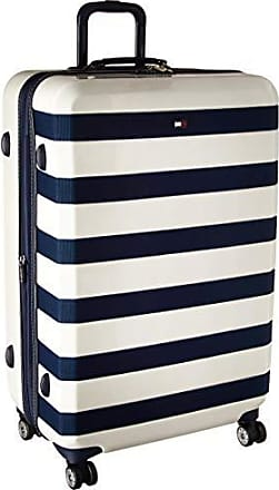 5b06df84 Tommy Hilfiger Rugby 28 Expandable Hardside Spinner, White