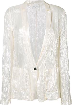 Forte_Forte metallic jacket - White