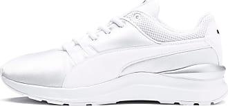 Puma Adela Satin Damen Sneaker Schuhe | Mit Aucun | Weiß | Größe: 37.5