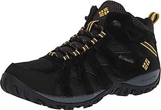 Columbia Mens Redmond Waterproof Mid Hiking Boot, Black, Antique Moss, 7.5 Regular US