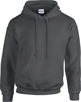 Undercover Gildan Hooded Sweatshirt Heavy Blend Plain Hoodie Pullover Hoody Charcoal L