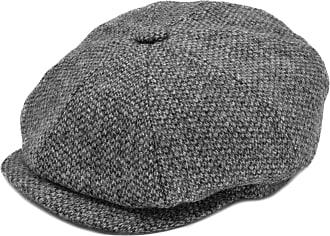 Generic Mens Baker Boy Caps Newsboy Hat Country Style Flat Cap (S/M - 57/58 cm, Grey)