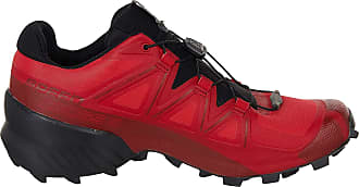 Salomon Mens Speedcross Competition Running Shoes, Red (Barbados Cherry/Black/Red Dahlia), 9.5 UK