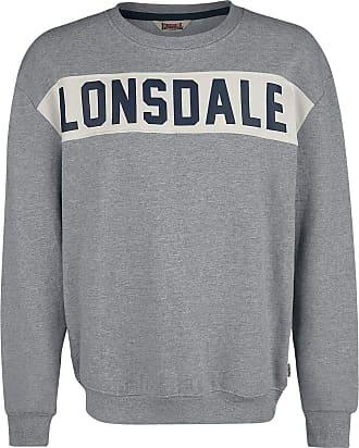 Lonsdale Mens Hethersett Sweatshirt, Marl Gray, L