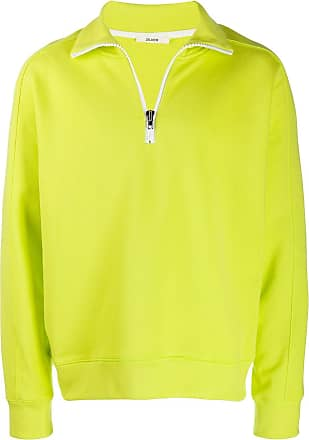 Zilver organic cotton zipped sweatshirt - Green