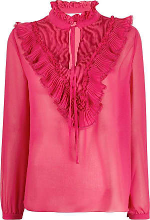 See By Chloé ruffle-trimmed blouse - Rosa
