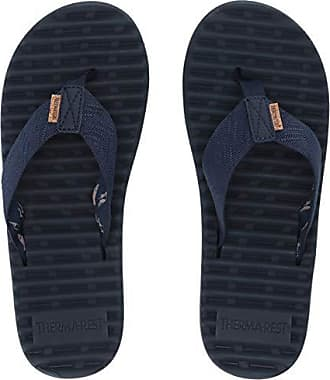 Freewaters Mens Treeline Therm-a-Rest Flip Flop Sandal, Navy ii 13 Medium US