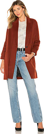 Rag & Bone Kaye Coat in Burgundy