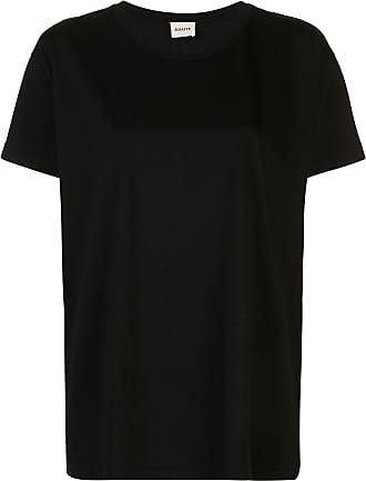 Khaite Camiseta modelagem ampla Brady - Preto
