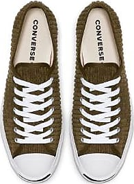 Converse Olive Jack Purcell Wide Wale Cord OX Schuhe - 42.5