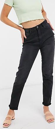 Urban Bliss Mom jeans neri-Nero