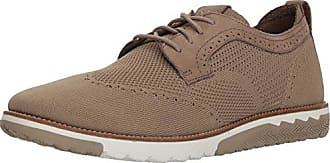 Hush Puppies Mens Expert WT Oxford, Taupe, 9.5 M US