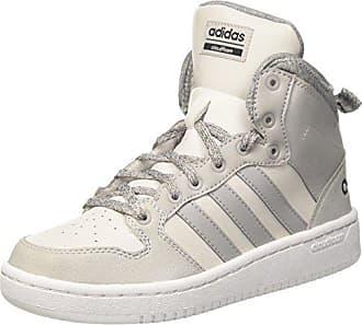 new style 72925 cf848 adidas CF Hoops Mid WTR W, Sneaker a Collo Alto Donna, Grigio One