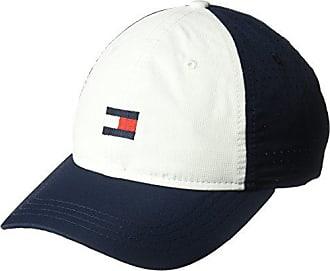 d0795aff Tommy Hilfiger Mens Dad Hat Flag Golf Cap, Multi/Classic White/Navy Blazer
